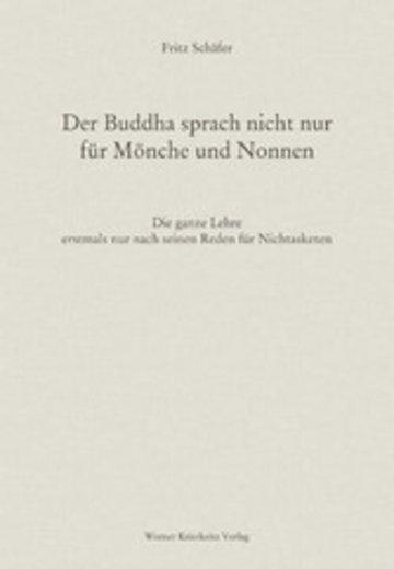 eBook Der Buddha sprach nicht nur für Mönche und Nonnen Cover