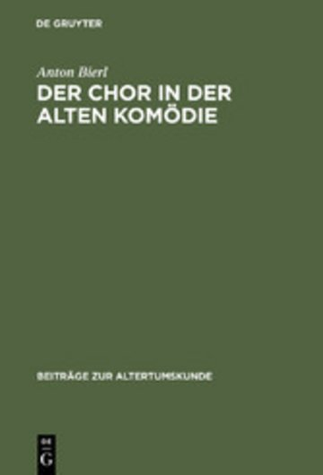 eBook Der Chor in der Alten Komödie Cover