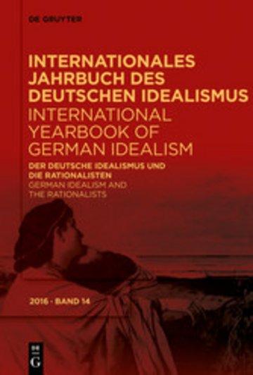 eBook Der deutsche Idealismus und die Rationalisten / German Idealism and the Rationalists Cover