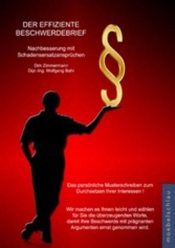 eBook Der effiziente Beschwerdebrief - Nachbesserung mit Schadensersatzansprüchen Cover