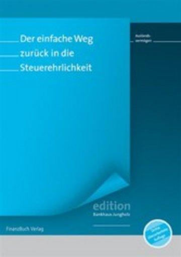 eBook Der einfache Weg zurück in die Steuerehrlichkeit Cover
