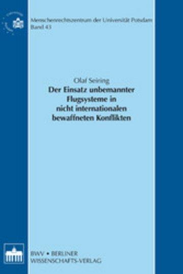 eBook Der Einsatz unbemannter Flugsysteme in nicht internationalen bewaffneten Konflikten Cover