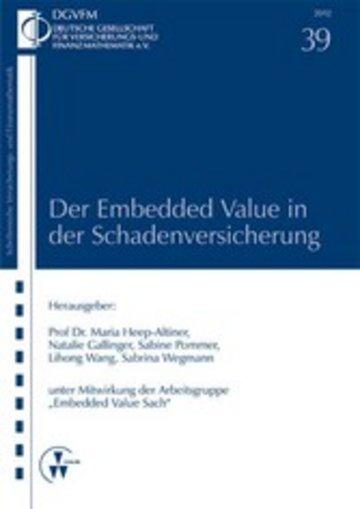 eBook Der Embedded Value in der Schadenversicherung Cover