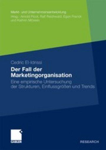 eBook Der Fall der Marketingorganisation Cover