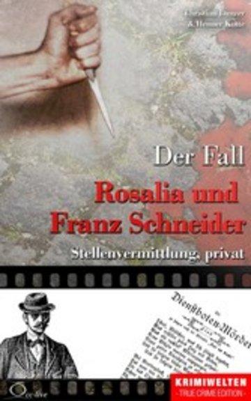 eBook Der Fall Rosalia und Franz Schneider Cover