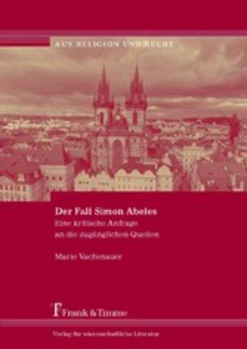 eBook Der Fall Simon Abeles Cover