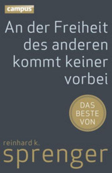 eBook An der Freiheit des anderen kommt keiner vorbei Cover