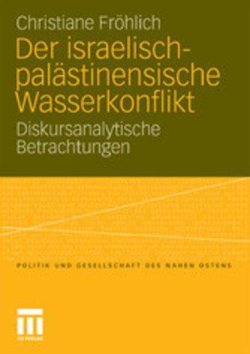 eBook Der israelisch-palästinensische Wasserkonflikt Cover