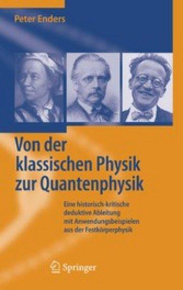 eBook Von der klassischen Physik zur Quantenphysik Cover