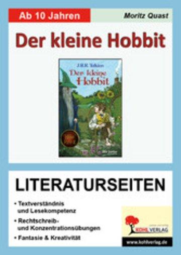 eBook Der kleine Hobbit - Literaturseiten Cover