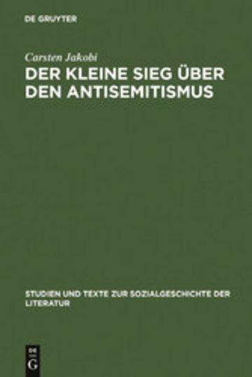 eBook Der kleine Sieg über den Antisemitismus Cover