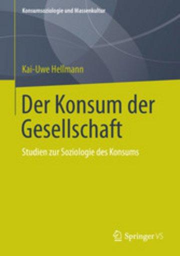 eBook Der Konsum der Gesellschaft Cover