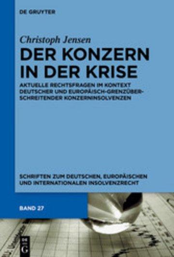 eBook Der Konzern in der Krise Cover