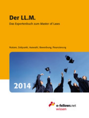 eBook Der LL.M. 2014 Cover