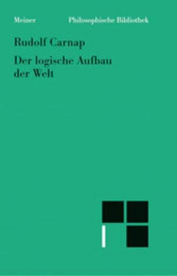 eBook Der logische Aufbau der Welt Cover