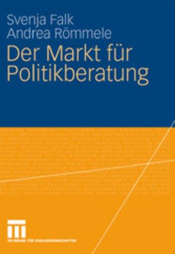 eBook Der Markt für Politikberatung Cover