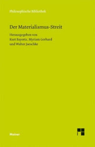 eBook Der Materialismus-Streit Cover