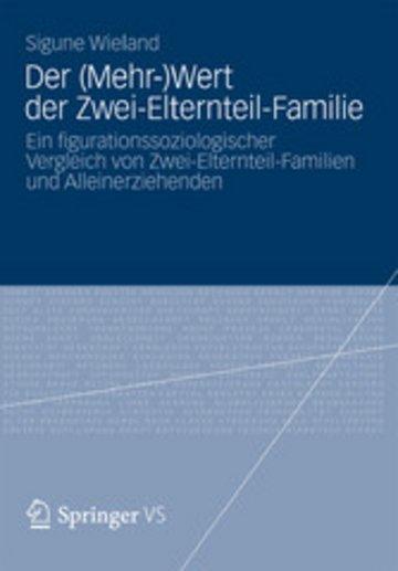 eBook Der (Mehr-)Wert der Zwei-Elternteil-Familie Cover
