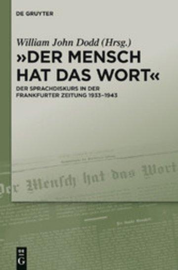 eBook 'Der Mensch hat das Wort' Cover