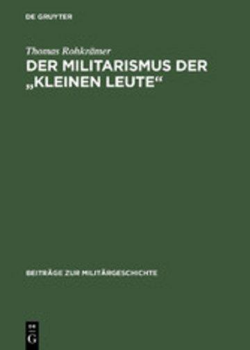 eBook Der Militarismus der 'kleinen Leute' Cover