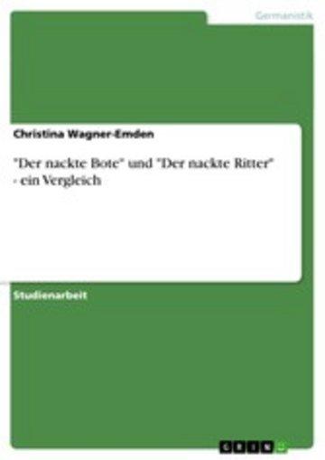 eBook 'Der nackte Bote' und 'Der nackte Ritter' - ein Vergleich Cover