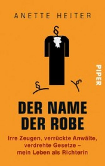 eBook Der Name der Robe Cover