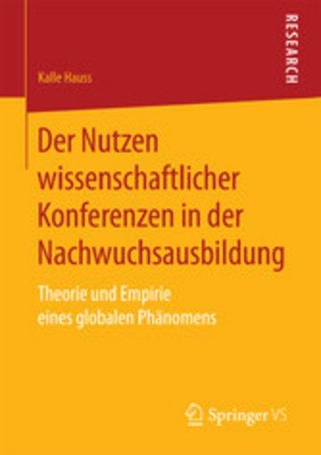 eBook Der Nutzen wissenschaftlicher Konferenzen in der Nachwuchsausbildung Cover