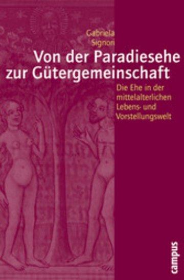 eBook Von der Paradiesehe zur Gütergemeinschaft Cover