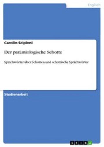 eBook Der parämiologische Schotte Cover