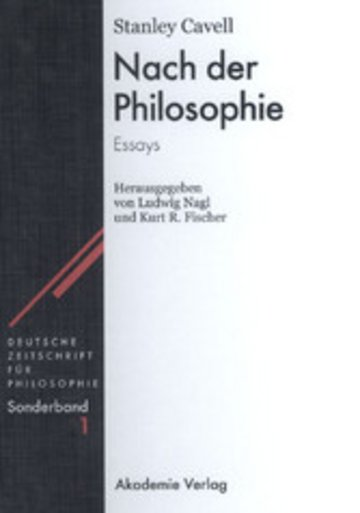 eBook Nach der Philosophie Cover