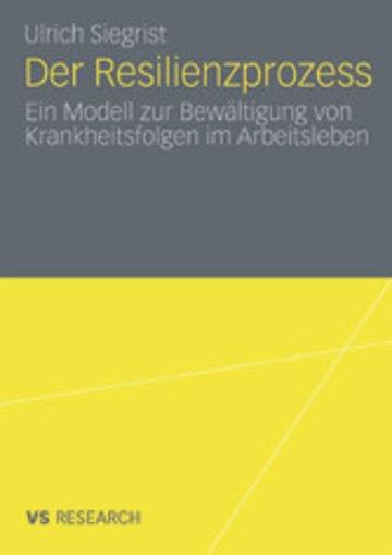 eBook Der Resilienzprozess Cover