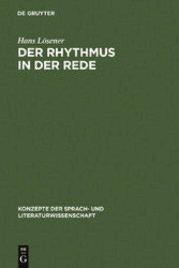 eBook Der Rhythmus in der Rede Cover