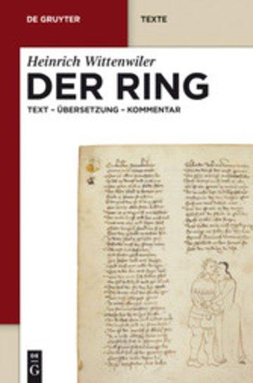 eBook Der Ring Cover
