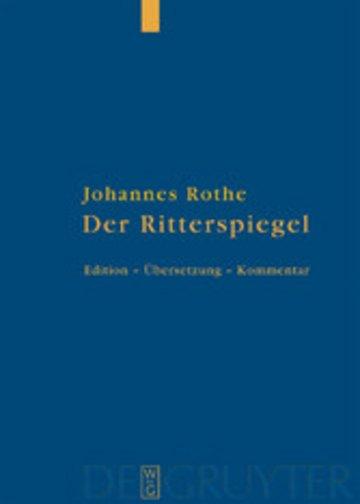 eBook Der Ritterspiegel Cover
