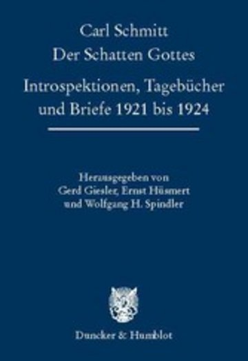 eBook Der Schatten Gottes. Cover