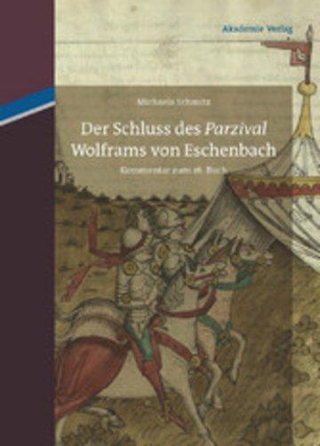 eBook Der Schluss des 'Parzival' Wolframs von Eschenbach Cover