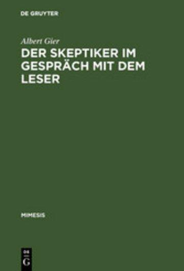 eBook Der Skeptiker im Gespräch mit dem Leser Cover
