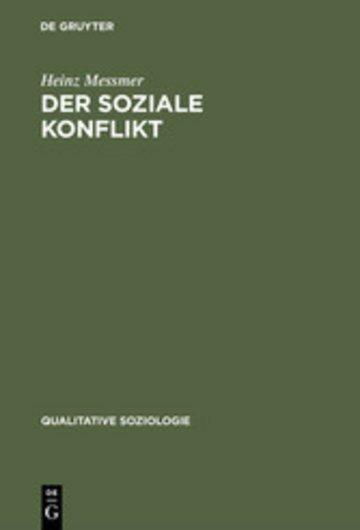 eBook Der soziale Konflikt Cover