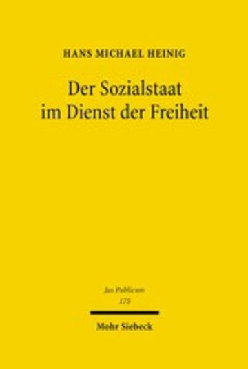 eBook Der Sozialstaat im Dienst der Freiheit Cover