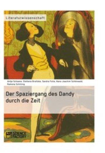 eBook Der Spaziergang des Dandy durch die Zeit Cover