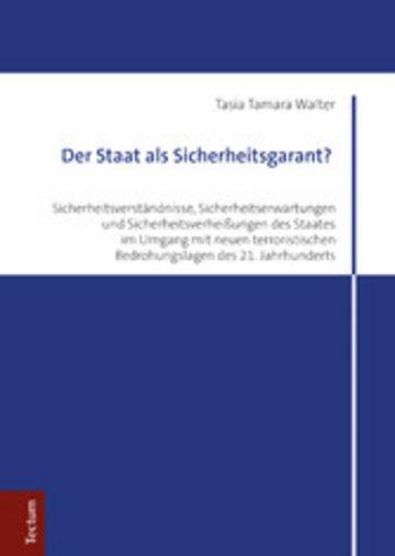 eBook Der Staat als Sicherheitsgarant? Cover