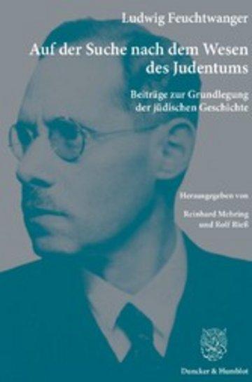 eBook Auf der Suche nach dem Wesen des Judentums. Cover