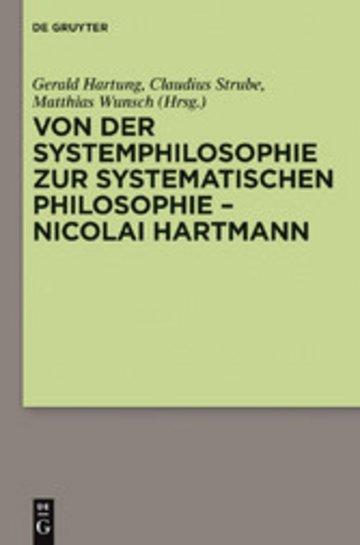 eBook Von der Systemphilosophie zur systematischen Philosophie - Nicolai Hartmann Cover