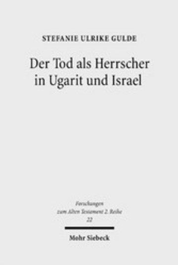 eBook Der Tod als Herrscher in Ugarit und Israel Cover