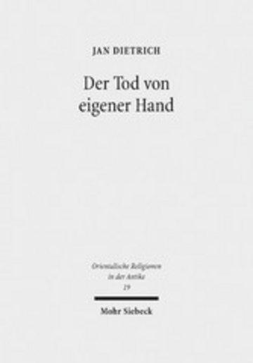 eBook Der Tod von eigener Hand Cover