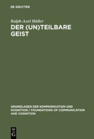 eBook Der (un)teilbare Geist Cover