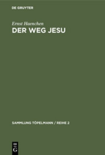 eBook Der Weg Jesu Cover