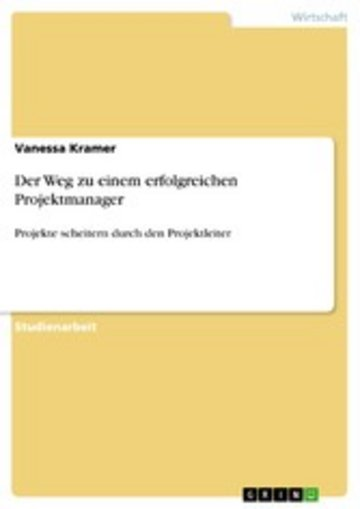 eBook Der Weg zu einem erfolgreichen Projektmanager Cover