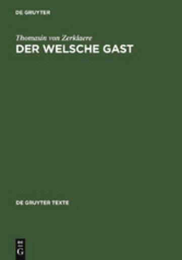 eBook Der Welsche Gast Cover