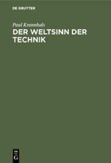 eBook Der Weltsinn der Technik Cover